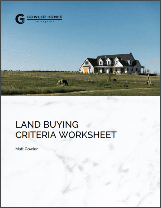 Buying Land Guide eBook Front Page